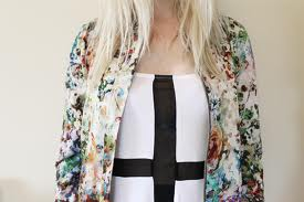 Inspiration image - Floral bomber look 2