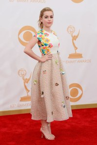 Stylitz - Kiernan Shipka 2 in Delpozo - Getty Images