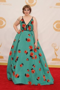 Stylitz - Lena Dunham in Prada - Getty Images