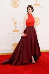 Stylitz - Michelle Dockery in Prada with Fred Leighton jewels - Getty Images