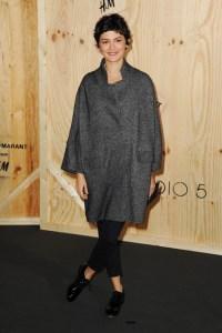 Audrey Tatou at Isabel Marant for H&M launch