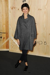 Audrey Tatou at Isabel Marant for H&M launch