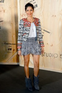 Freida Pinto in Isabel Marant for H&M