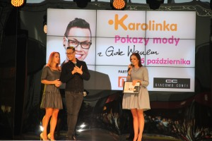 Gok on stage 2