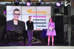 Gok on stage