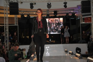Patrycja on stage
