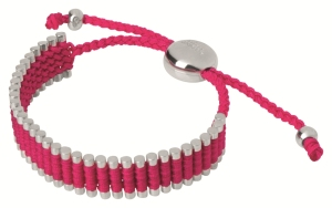 Stylitz - Links of London Hot Pink Friendship Bracelet -£140