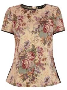Stylitz Oasis Mollie jacquard floral top £45 crop