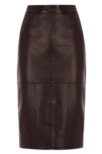 Stylitz Oasis Mollie leather pencil skirt £85