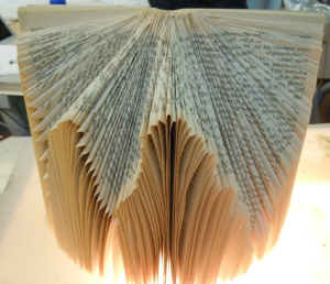 GH for RI inspiration - book sculpture