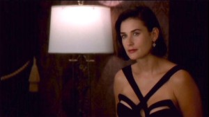Demi Moore in Mugler dress-Indecent Proposal