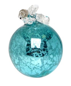 Liberty Turquoise Antique Effect Beaded Bauble £7.95