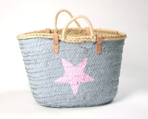 Twenty Violet light blue beach bag -£56.95 Available at B London Boutique www.blondonboutique.com