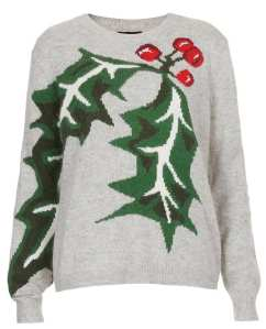 Xmas jumper holly Topshop £50