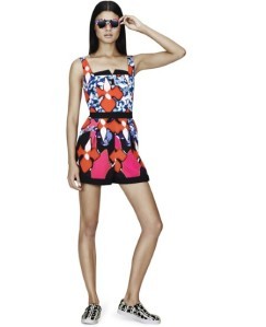peter-pilotto-target 12 - sunglasses £17, playsuit £50, trainers £30