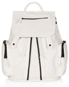 Topshop perforated backpack £36