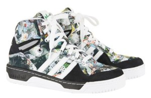 Still life - Topshop X Adidas Originals high tops, £80