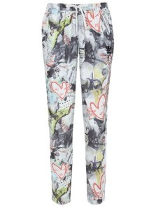 Still life - Topshop X Adidas Originals Printed tracksuit bottoms £50