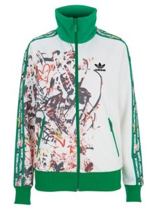 Still life - Topshop X Adidas Originals zip-up top, £70