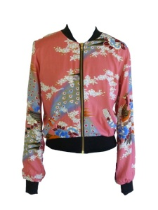 RR844 LUSH BOMBER EASTERN PEACOCK BUBBLEGUM copy