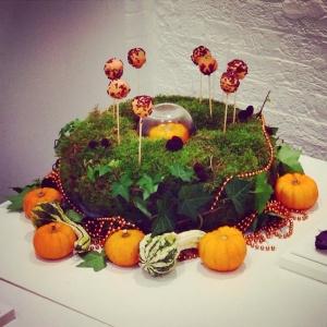 Pumpkin cakepops at Safilo PR - stylitz.com