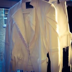 Haizhen Wang SS15 jacket - stylitz.com