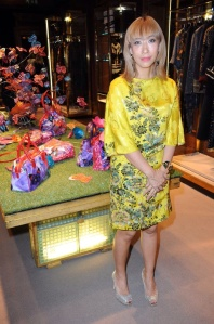Mika Ninagawa at Etro London launch