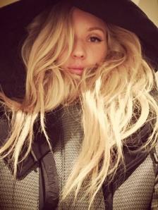 Ellie Goulding in AlexanderWangxH&M