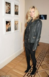 Kate Moss leather jacket Image - Dave Bennett
