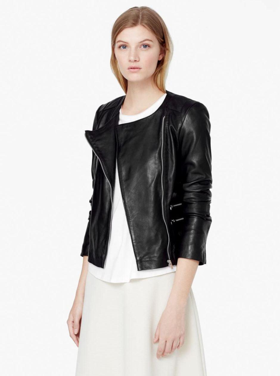 e8b5ad884 The ultimate black leather biker jacket – Stylitz